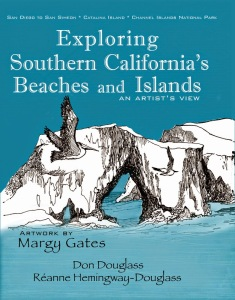 Exploring Southern California Beaches and Islands book artwork Margy Gates