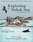 Exploring the Salish Sea book artwork Margy Gates