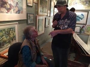 Margy and musician/photographer/neighbor/friend John
